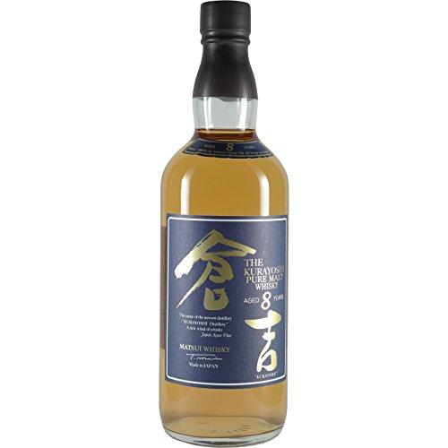 WHISKY KURAYOSHI 8 AÑOS JAPONES (700ML)