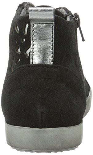 Tamaris 25220, Scarpe da Ginnastica Alte Donna Nero (BLACK/PEWTER 061)