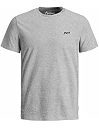 Jack & Jones Mens T Shirt New Light Crew Neck Short Sleeve Plain Tee