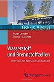 Wasserstoff und Brennstoffzellen: Unterwegs mit dem saubersten Kraftstoff (Technik im Fokus) - Jochen Lehmann