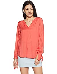 Symbol Amazon Brand Women's Plain Regular Fit Top