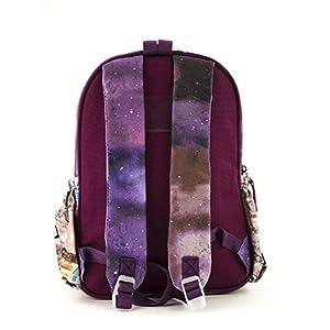 41hldfUbDLL. SS300  - Anekke Schulrucksack/Backpack mit 2 Reißverschlussfächern Balerina Mochila Tipo Casual, 35 cm, 12 Liters, Multicolor…