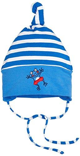 Sterntaler Baby-Jungen Mütze Knotenmütze Blau (Enzian 377)