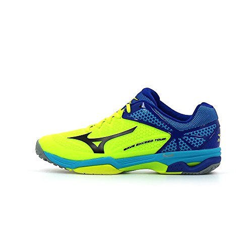 Mizuno Wave Exceed Tour 2 All Court Tennisschuh - SS17 NYellow/Black/SurfTheWeb