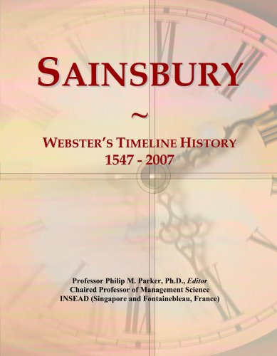 sainsbury-websters-timeline-history-1547-2007