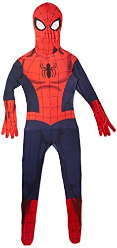 Morphsuits Offizieller Spiderman, Verkleidung, Kostüm - Medium 4'7-5'2 (138cm - 158cm)