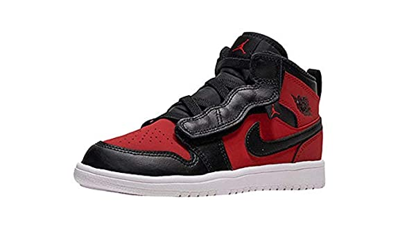 5cd7660899e7 Nike Jordan 1 MID ALT (PS) Boys Fashion-Sneakers AR6351-610 11C - Gym  RED Black-White  Amazon.co.uk  Shoes   Bags