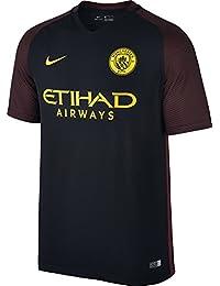 Nike Manchester City M SS AW Stadium JSY Camiseta de Manga Corta 8a9ad32cfdcb