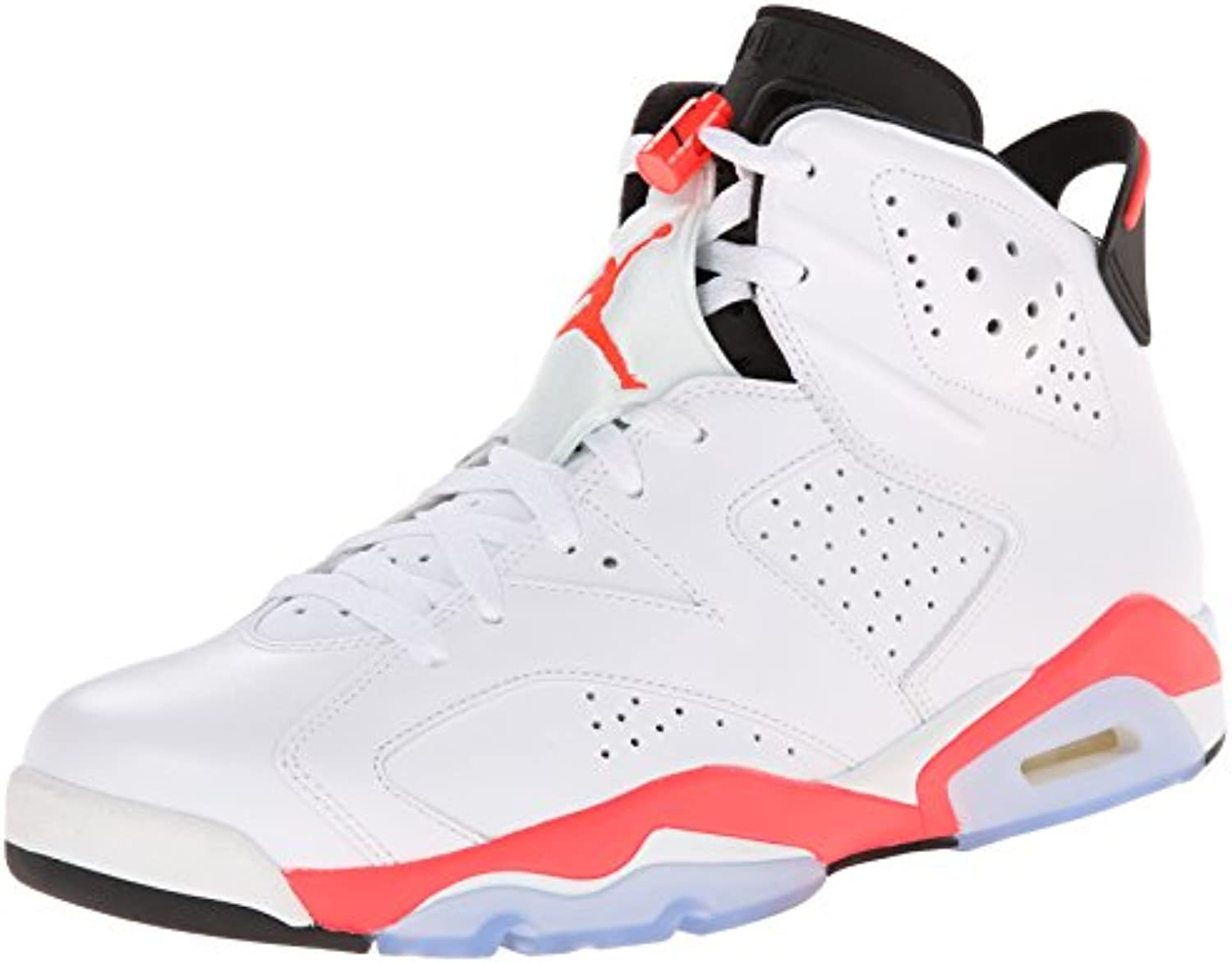 Nike Air Jordan 6 Retro 'White Infrared' White/Infrared-Black Trainer