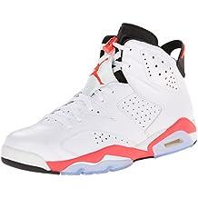 the latest 54fd7 c2ba0 Hombre Nike Air Jordan 6 Retro – 384664 123, White Infrared-Black,