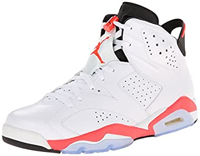 Nike Air Jordan Retro 6 Infrared 384664 123, white, 11