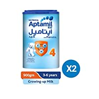 Aptamil Junior 4 Milk 900g, Pack of 2