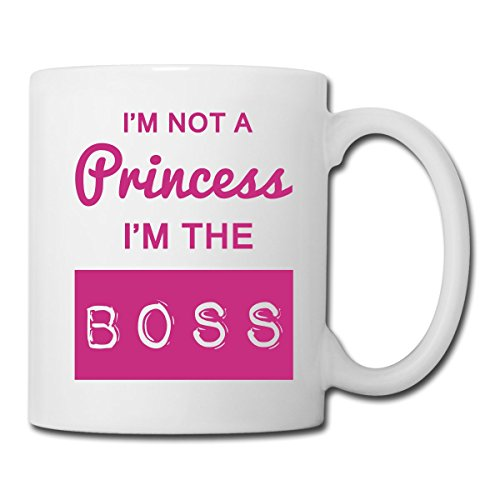 Princesse I'm The Boss Mug blanc, blanc
