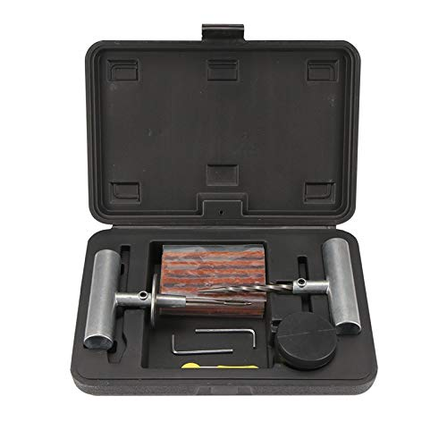 Semoic Auto Reifen Reparatur Set Auto Van Motorrad Fahrrad Reifen Reparatur Werkzeuge Notfall Schwerlast Schlauchlos Reifen Punktion Reparatur Kit (Auto-reifen-reparatur-kit)