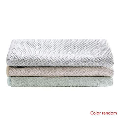 Beaums 3pcs Multi Anti-Greasy Spültuch Faserauswaschzone Schüssel Handtuch Küchenreinigungstuch Putzlappen Dishcloth zufällige Farbe -