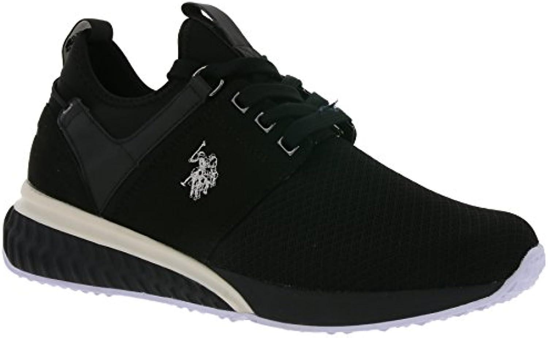 U.S.POLO ASSN. Schuhe Sneaker Herren Sportschuhe Low Schwarz