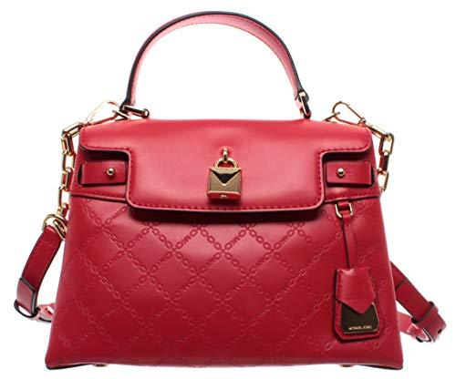 Michael Kors Damen Schulter Hand Taschen 30S9GG7S2Y Red Gramercy Leder Rot Neu