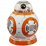 Star Wars epvii: tarro para galletas: BB-8, color blanco