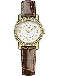 Tommy Hilfiger Damen-Armbanduhr Rose Analog Quarz Leder 1781473