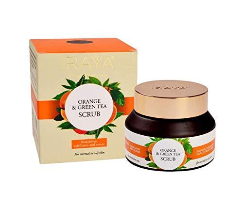Iraya Scrub, Orange und grüner Tee, 50 g - Abt Tee