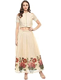 Bhama Couture Top & Skirt Set For Women