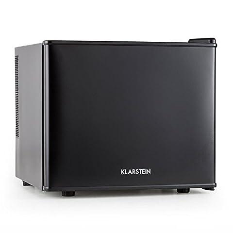 Klarstein Cachette Mini réfrigérateur encastrable (capacité de 17L, fonctionnement discret, température réglable, lumière intégrée, classe énergétique A+) - noir