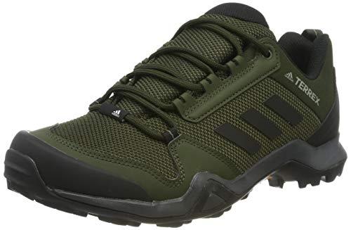 adidas Terrex AX3, Scarpe da Trail Running Uomo, Multicolore (Night Cargo/Core Black/Raw Khaki BC0526), 42 EU