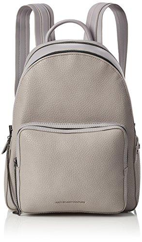 Juicy by Juicy Couture Damen Aspen Rucksackhandtasche, Grau (Grey Grainy), 17x32.5x25.5 cm (Couture Tasche Juicy)