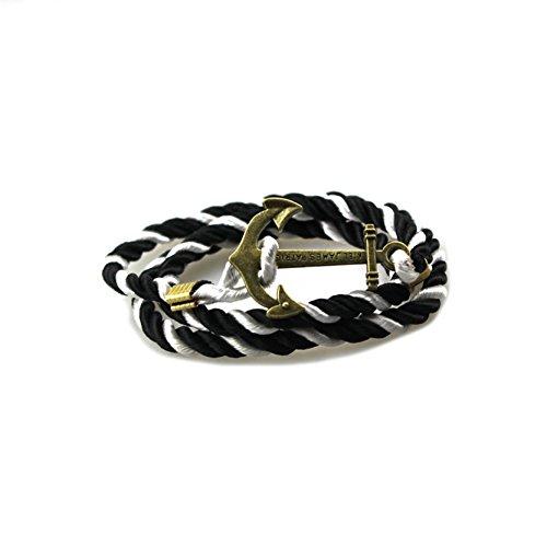 OBSEDE Nautische Charme Anker Armband für Männer Frauen Multi-Wrap Paracord Seil Armbänder - Männer Anker-seil-armband