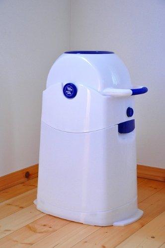 Geruchsdichter Windeleimer Diaper Champ regular blau – für normale Müllbeutel - 20