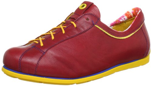 Think!Eggal - Scarpe Basse Stringate Donna Rot (rosso/kombi 72)