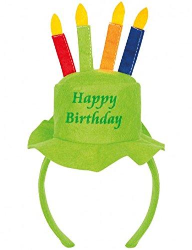 (Serre-tête anniversaire-Vert-)