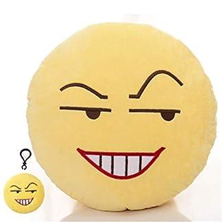LLLSP Expression Emoticon Cute Plush Pillows Soft Party Filler Toy para niños y Adultos, decoración del Festival de Navidad Adiós 42cm