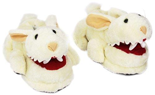 Toyvault 15043 Monty Python - Pantuflas, diseño de conejo
