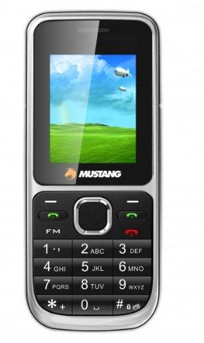Mustang Mustang PHONEM1B-R Handy M31 (2,54 cm (1,8 Zoll) TFT Farbdisplay, Quadband, MicroSD-Slot, Dual SIM Karten, VGA Kamera, Bluetooth, MP3/MP4 Player, FM Radio) schwarz