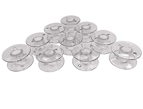 Kunststoff Spulen für Elna Excellence 580, 680, 680, 720, 730 Nähmaschine 10 St.