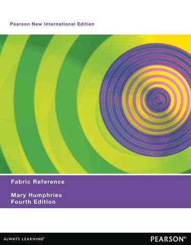 Fabric Reference: Pearson New International Edition / 3rd Party Swatch Set to accompany Humphries / Fabric Glossary