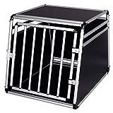 EUGAD Cage de Chien Caisse de Transport en Aluminium et MDF pour Chien...