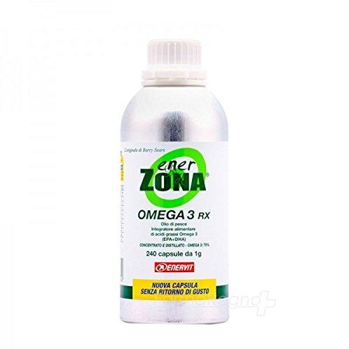 Omega 3 Rx Ener Zona 240 cápsulas 1000mg de Enerzona