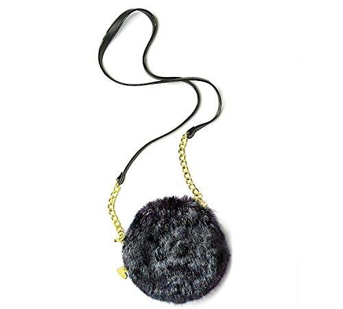 rolls Cantene Crossbody Bag (Black) (Crossbody Betsey Johnson)