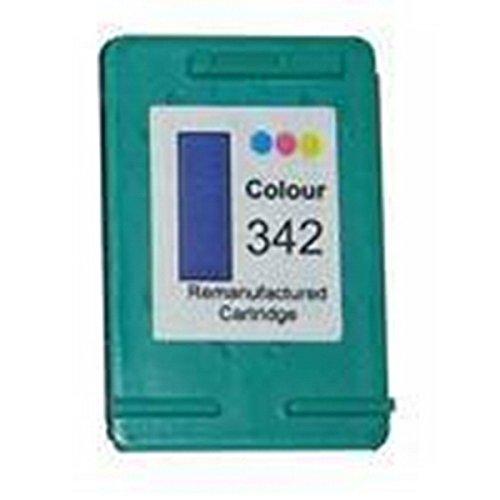 Cartuccia compatibile inkjet hp 342 (c9361e) tre-colori per hp deskjet d 4145, d 4155, d 4160, d 4163, d 4168, 5440 hp officejet 6304 aio, 6305 aio, 6307 aio, 6310 aio, 6313 aio, 6314 aio, 6315 aio hp photosmart 2570, 2573, 2575, 2575v, 2575xi, c3110 aio, c3125 aio, c3135 aio, c3140 aio, c3150 aio, c3170 aio, c3173 ecc.