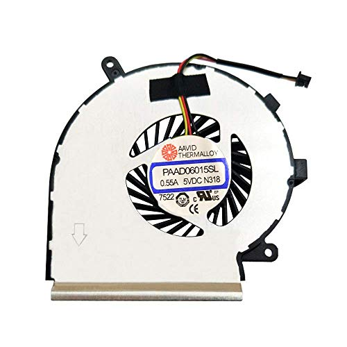 PAAD06015SL Replacement Laptop CPU Cooling Fan For GE62 GE72 PE60 PE70 GL62 N303 Notebook Cooler Radiators