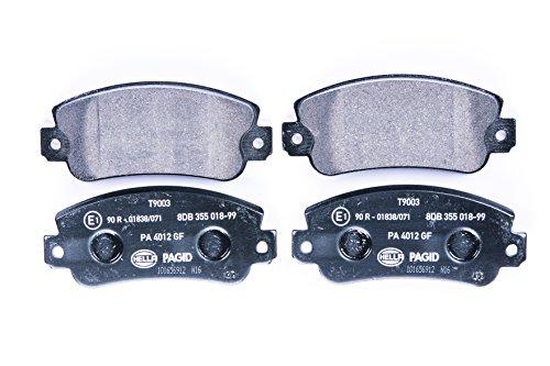 HELLA PAGID 8DB 355 018-991 Kit pastiglie freno, Freno a disco, Assale anteriore