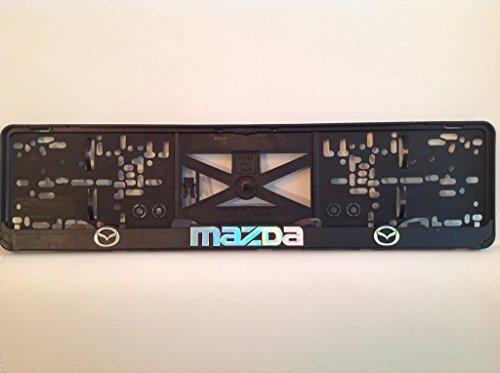 mazda-2xechte-3d-effekt-kennzeichenhalter-nummernschildhalter