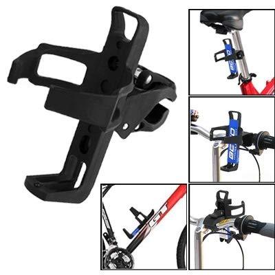 Lanbinxiang@ Portador de Botella de Bicicleta portátil de Material plástico de Alta dureza Taza de Beber, Jaula, especificaciones: Altura 150 mm; Ancho 80 mm La Seguridad