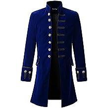 Gran promoción! Traje de Fiesta, Uniforme y Vestido Largo gótico de Color sólido para