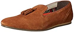 United Colors of Benetton Mens Tan Espadrille Flats - 9 UK/India (43 EU) (16A8SUEDFW38I)