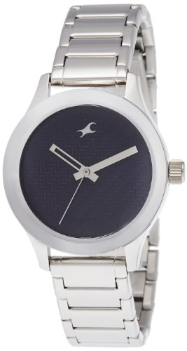 Fastrack Monochrome Analog Blue Dial Women's Watch -NK6078SM04