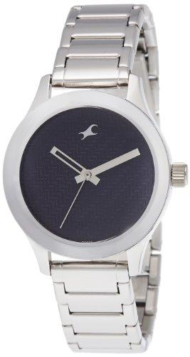 Fastrack Monochrome Analog Blue Dial Women's Watch -NK6078SM04