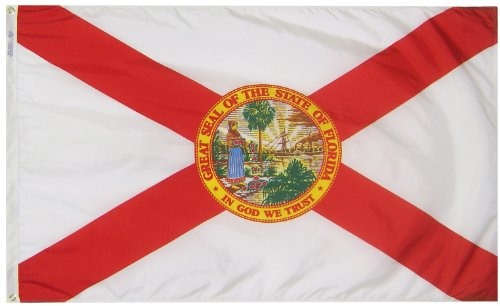 Annin Flagmakers Florida State Flag 3x5' Nicht zutreffend -